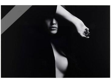 Acrylglasbild, Schwarz, Weiß, B/H/T 80 120 1,70