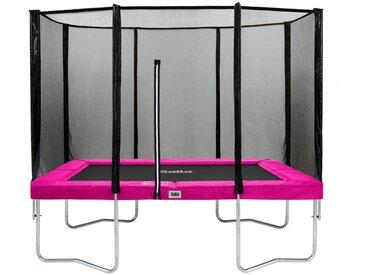 TRAMPOLIN SALTA COMBO 153/214 cm Schwarz, Pink