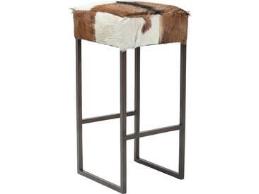 Kare-Design: Stuhl, Braun, Schwarz, Weiß, B/H/T 35 74 35