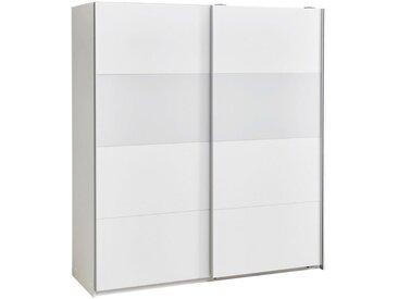 Carryhome: Schwebetürenschrank, Holzwerkstoff, Weiß, B/H/T 179 198 64