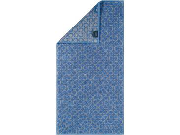 Cawoe: Duschtuch, Blau, B/H 80 150