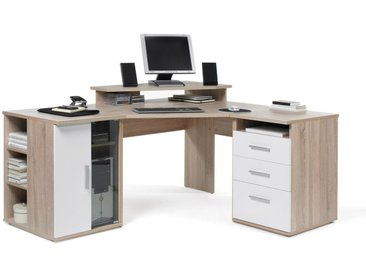 Carryhome: Tisch, Weiß, Eiche, B/H/T 173 75 140
