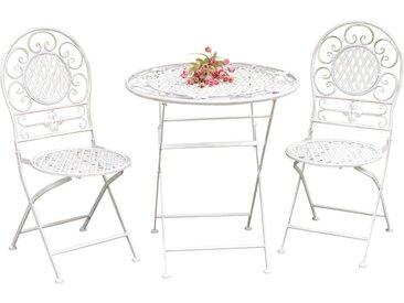 Ambia Home: Garten-Set, Weiß