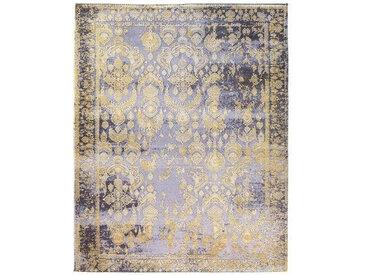 VINTAGE-TEPPICH 160/230 cm Grau, Goldfarben