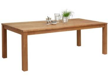 Ambia Garden: Tisch, Recyclingholz, Teakholz, Teak, B/H/T 100 76 220