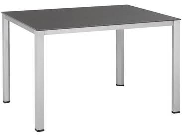 Kettler HKS: Tisch, Schiefer, Silber, B/H/T 70 74 140
