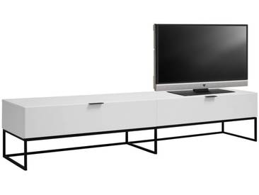 Ambia Home: TV-Element, Weiß, B/H/T 200 40 40