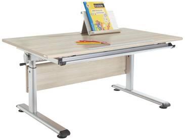 Paidi: Schreibtisch, Eiche, Silber, B/H 120 70