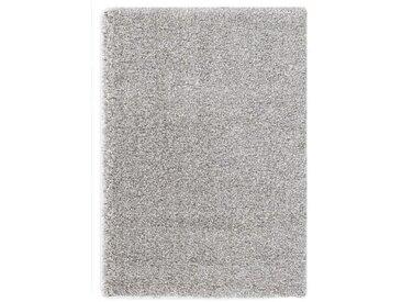 Novel: HOCHFLORTEPPICH 200/200 cm gewebt Silberfarben