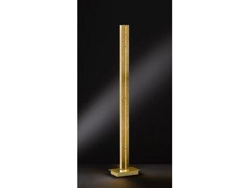 Stehleuchte, Gold, B/H/T 26,4 141 16,4
