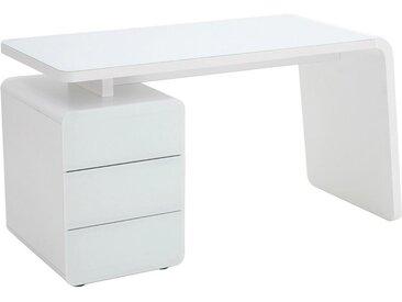 Tisch, Weiß, B/H/T 132 75 60