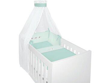 My Baby Lou: Gitterbett-Set, Mintgrün