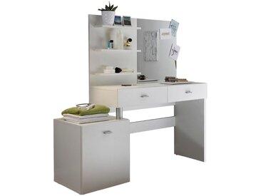 Livetastic: Tisch, Weiß, B/H/T 132 145 43