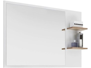 Xora: Badezimmer, Weiß, Eiche, B/H/T 100,0 74,5 15,5