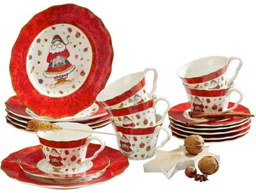 New Bone China KAFFEESERVICE 18-teilig