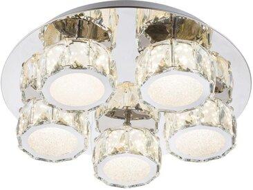LED-Deckenleuchte, Chrom