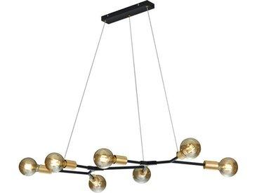 Hängeleuchte, Schwarz, Bronze, B/H/T 45 150 91