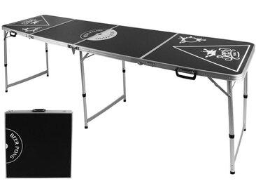 Tisch, Schwarz, B/H/T 60 54 76