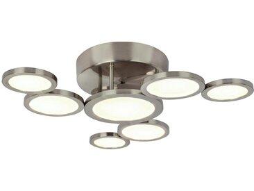 LED-Deckenleuchte, Nickel, H 10
