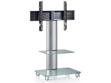 Livetastic: TV-Rack, Silber, Transparent, B/H/T 60 100 44