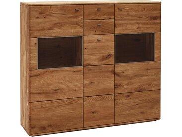 Voleo: Highboard, Holz,Eiche, B/H/T 153 136 39