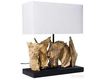 Kare-Design: Tischleuchte, Weiß, B/H/T 30 35 15