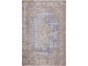 VINTAGE-TEPPICH 155/230 cm Blau, Beige