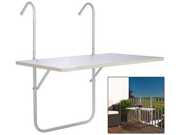 Tisch, Weiß, B/H/T 60 1,2 40