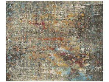 VINTAGE-TEPPICH 133/185 cm Grau, Multicolor