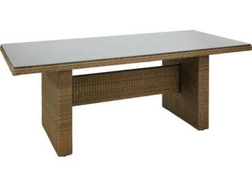Ambia Garden: Tisch, Braun, B/H/T 100 74,5 200
