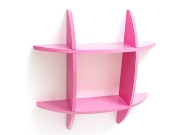Wandregal Cube Wandboard Retro Regal B³cherregal Regal pink