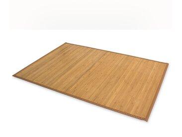 Bambusmatte Bambusteppich Teppich Bambus 160x230 braun