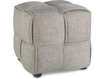 Sitzhocker Grau Sitzwürfel Polsterhocker Würfelhocker Hocker Polster