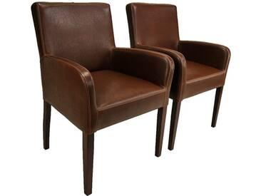 ALFO ARM Sessel Armlehnstuhl Kunstleder Farbe wählbar