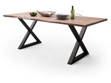 Baumtisch CALVERA  Breite 200 cm Farbe Natur Akazie Massivholz  von Empinio24