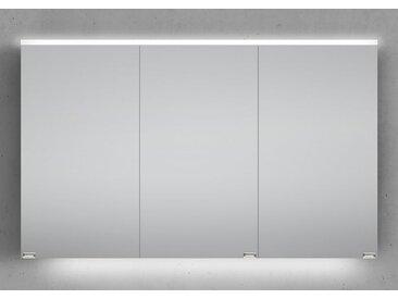 Spiegelschrank 120 cm integrierte LED Beleuchtung doppeltverspiegelt