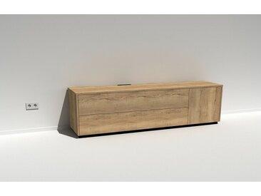 TV-HiFi-Moebel Scaena Protekt 205R Eiche Halifax (Dekor) 208 cm breit und ordentlich Tiefe