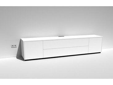 TV-Lowboard Scaena Protekt 260 Weiß lackiert 260 cm breit mit viel Stauraum