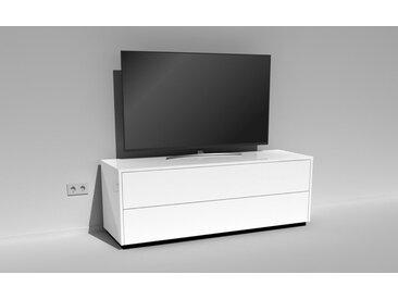 TV-Lowboard Scaena Protekt 150 Weiß HG keine