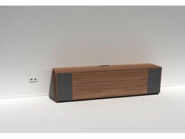 TV-Lowboard Soundmöbel Scaena Protekt Sound Nussbaum furniert