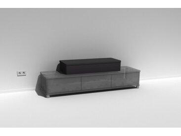 TV-Aufsatz Belmaro Soundcape Schwarz lackiert