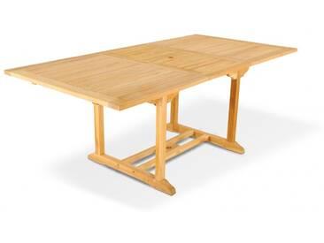 SAM® Gartentisch ausziehbar 150 - 200 cm Teakholz CARACAS Auf Lager !