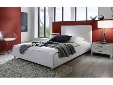 SAM® Polsterbett Jugendbett Bett 100 x 200 cm weiß ZARAH Auf Lager !