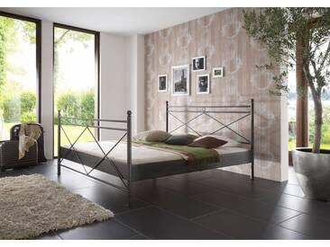 SAM® Metallbett schwarz 140 x 200 cm Imola Auf Lager !