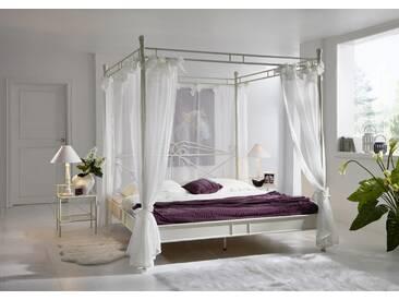 SAM® Design Himmelbett 140cm creme weiß Venezia Auf Lager !