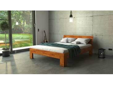 SAM® Massivholzbett Doppelbett in Wildeiche geölt 160 x 200 cm SARA Auf Lager !