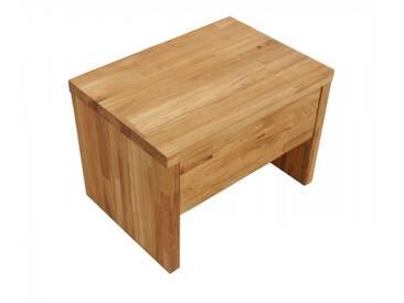 SAM® Nachttisch 50 x 36 cm Massivholz Wildeiche parkett BEN 2 Auf Lager !