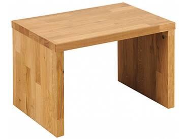 SAM® Nachttisch 50 x 36 cm Massivholz Wildeiche parkett BEN 1 Auf Lager !