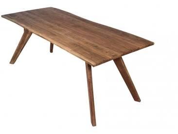 Wolf Möbel® Baumkantentisch Akazie 200 x 90 cm Live Edge sandfarben Auf Lager !