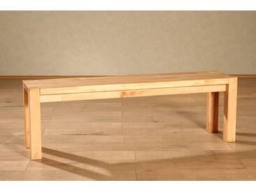 SAM® Sitzbank Holzbank 170 x 35 cm Balkeneiche massiv Braxton Auf Lager !